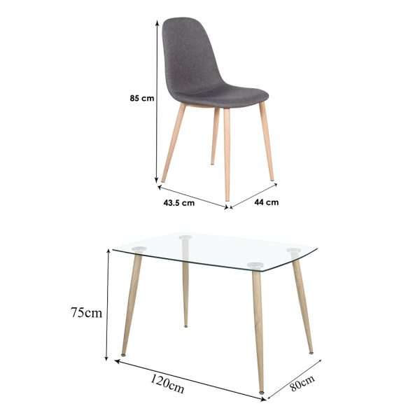 Chair-and-Medium-table
