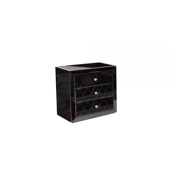 Crystal-Bedside-Table-Black