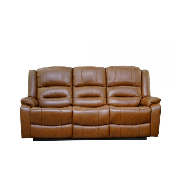 Titan-Tan Brown-3 Seater-Recliner