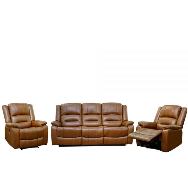 Titan-Tan Brown-311 Seater-Recliner