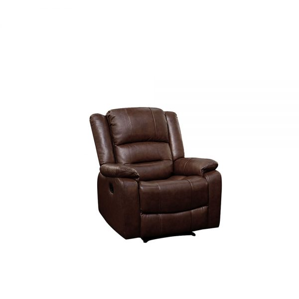 Titan-Wine Brown-1 Seater-Recliner