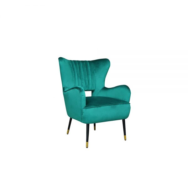 Elle-Valvet-Chair-Green-Main