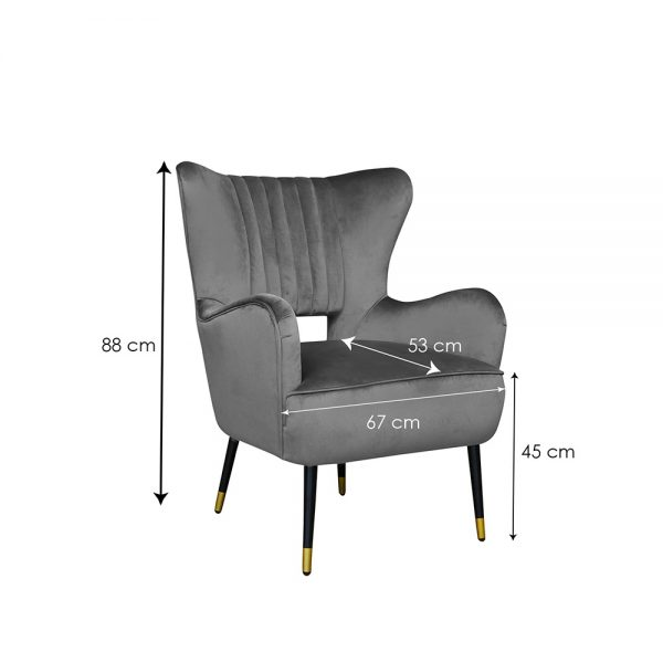 Elle-Valvet-Chair-Grey-Dim