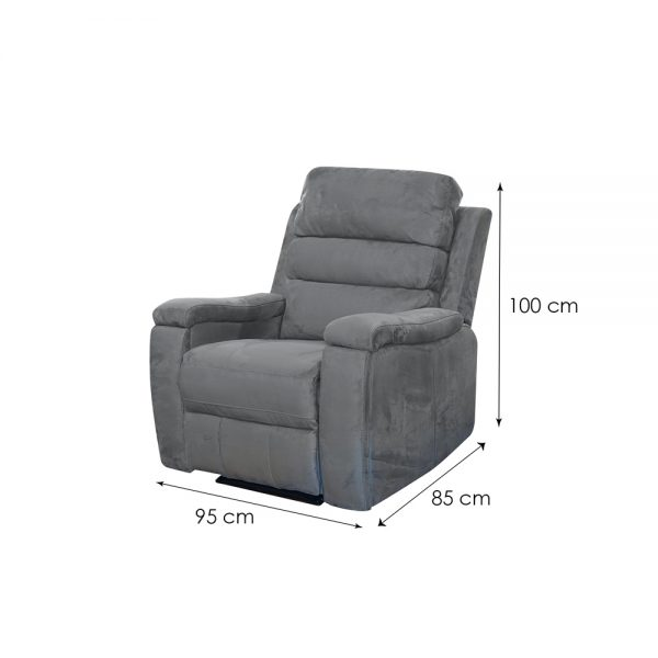Kelson-Fabric-Dark-Grey-1-Seater-Dim